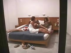 Amateur Lesbian Orgy - Hidden Cam - Part 1