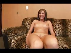 Round ass office creampie