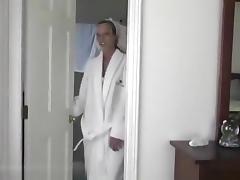 Sexily dressed hunny fucks like a pro