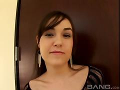 Sasha Grey lets him fuck her feet and and her wet mouth