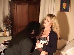 Beautiful wife fucks a big black dick.