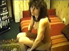 Shy russian girl with superhairy pussy already gets a creampie after 1 minute in missionary position