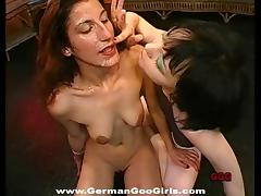 Group sex with European sluts who love swallowing cum