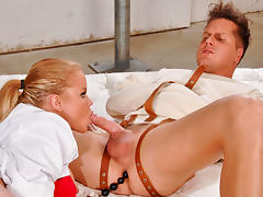 Nikki D & Parker London in Crazy Fucker Video