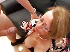 Sexy Mature gets anal and fisted
