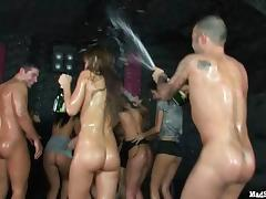 Welcome to orgy indoors party with lots of ardent and steamy bombshells