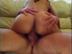 Hot little Latin gets vibrator placed inside her pussy and gets fucked