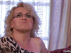 Mom and Boy, Group, Lesbian, Mature, Old, Orgy