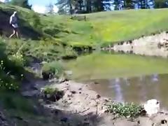 une rando boueuse et dans les orties