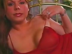 Busty tranny drills dudes ass