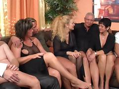 Mature Orgy, Fucking, German, Group, Hardcore, Mature