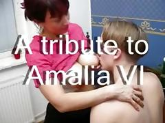 Compiltion of homemade videos with amateur woman Amalia