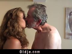 Dad and Girl, Grandpa, Old Man, Sex, Teen, Old and Young