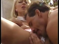 Lea Martini fucks the poolman