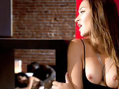 Dani Daniels, Evi Fox, Bill Bailey & Xander Corvus  in Crave - Episode 1 - Girl Meets Boy