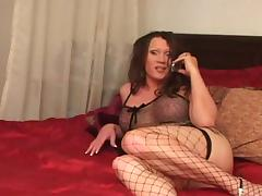 Hot Latina Tranny & Black Pecker