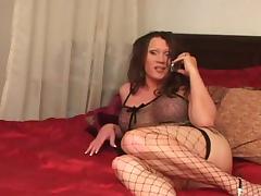 Hot Latina Tranny & Black Pecker