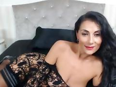 Very hot an sexy MILF in lingerie chats online