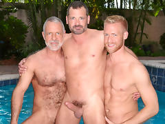 Allen Silver & Will Swagger & Christopher Daniels in Neopolitan Video
