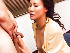 Best Japanese slut in Crazy JAV uncensored Blowjob video