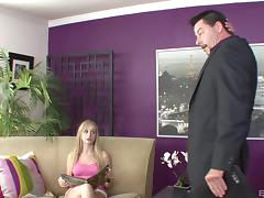 Mesmerizing Staci is quite happy to ride her lover's cock
