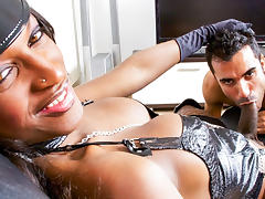 Erik Gaucho, Fabiola in Filthy Shemale Sluts #12