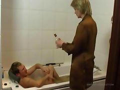 Bathroom, Bath, Bathing, Bathroom, Nurse, Sex
