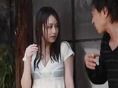 Akiho Yoshizawa is all good at unplanned sex and she rarely misses to orgasm