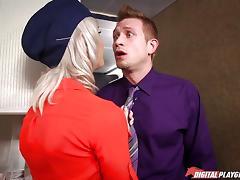 free Stewardess porn tube