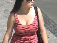 Candid, Big Tits, Boobs, Hidden, Tits, Candid