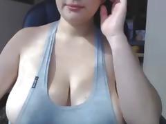 Breasty juvenile non-professional gir