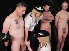 Cfnm mistress humiliates