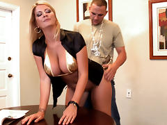 Boss, BBW, Big Tits, Blonde, Boss, Doggystyle
