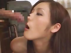 Cock Sucker Brunette