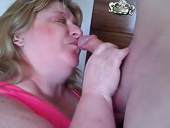 Fat Granny, Amateur, BBW, Blowjob, Chubby, Chunky