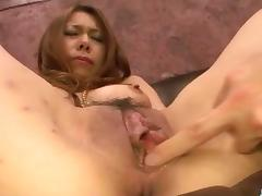 Serious hardcore pleasures for tight Miharu Kai