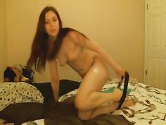 Amateur Girlfriend Sucks Cock before a Hot Fucking
