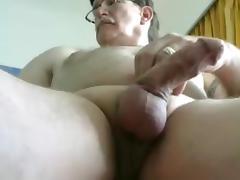 grandpa stroke on cam (no cum) 1