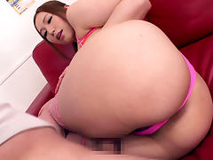 Hottest Japanese model Ai Sayama in Amazing JAV censored Swallow, Big Tits scene