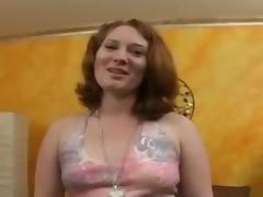Chubby ginger slut