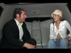 Ash Gracie Ley in Limousine