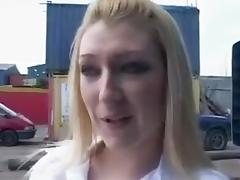 Chav Slag Fucked and Facialed