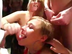 Bukkake, Bukkake, Cum in Mouth, Party, Cum Swallowing