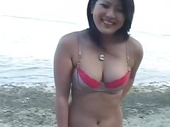 Hitomi Nakagawa Uncensored Hardcore Video with Swallow, Outdoor scenes