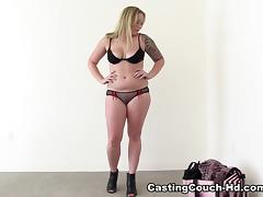 Ass, Ass, Audition, Big Tits, Blonde, Blowjob