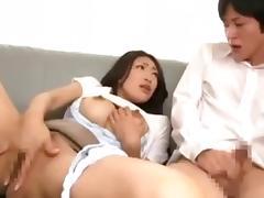 OKSN-114 - Reiko Kobayakawa Seduces & Fucks Her Son