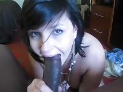 Hotwife Swallowing my cum