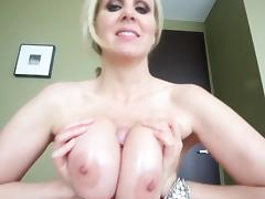 POV CUMMING BETWEEN TITS(TITFUCK FINISH)