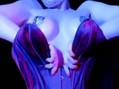 Le Bon Noir - Dita Von Teese Burlesque Strip in the Shower
