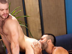 Trent Locke & Aybars in Pounded Down, Scene #03
